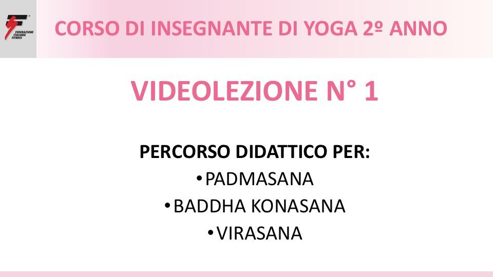 videolezione 1 yoga